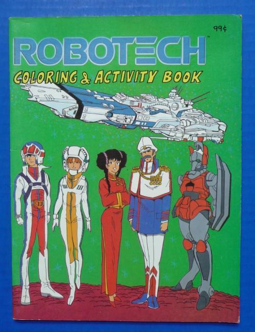 Robotech Coloring Book
