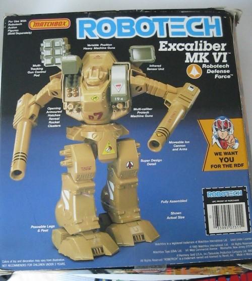 Robotech Excalibur 1985-2