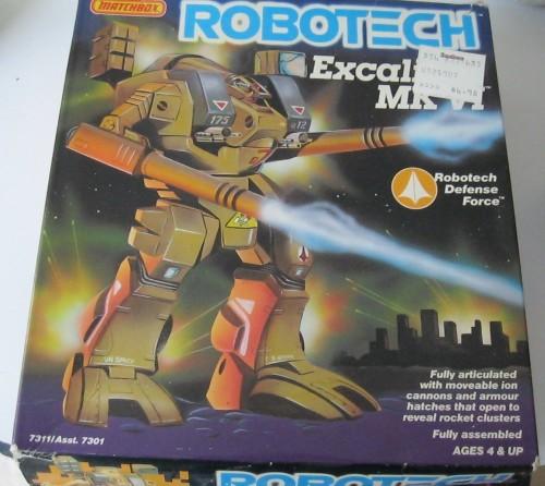 Robotech Excalibur 1985