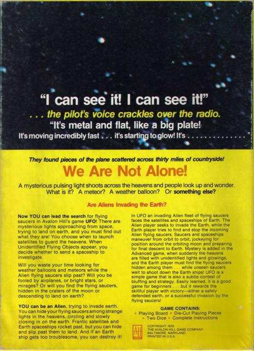 UFO Game 1978-2