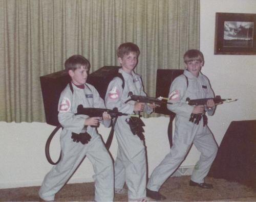 Halloween Ghostbusters 1984