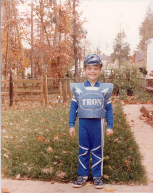 Halloween Tron 1983