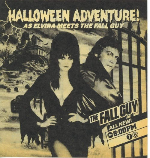 Halloween TV Guide Elvira 1984