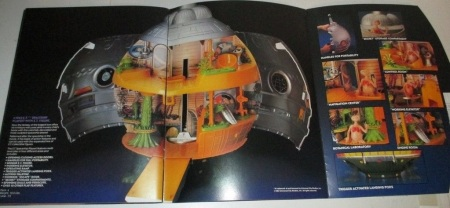 E.T. Spaceship LJN 1983