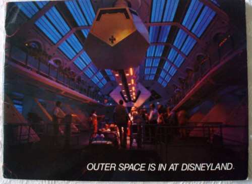 Space Mountain Orientation Book 1977