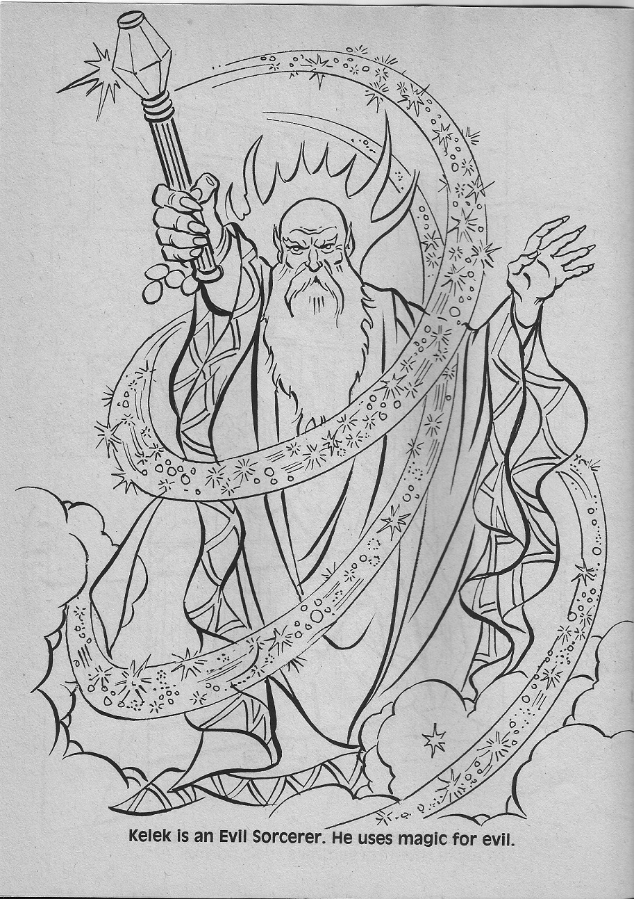 dungeons and dragons coloring pages - photo#32