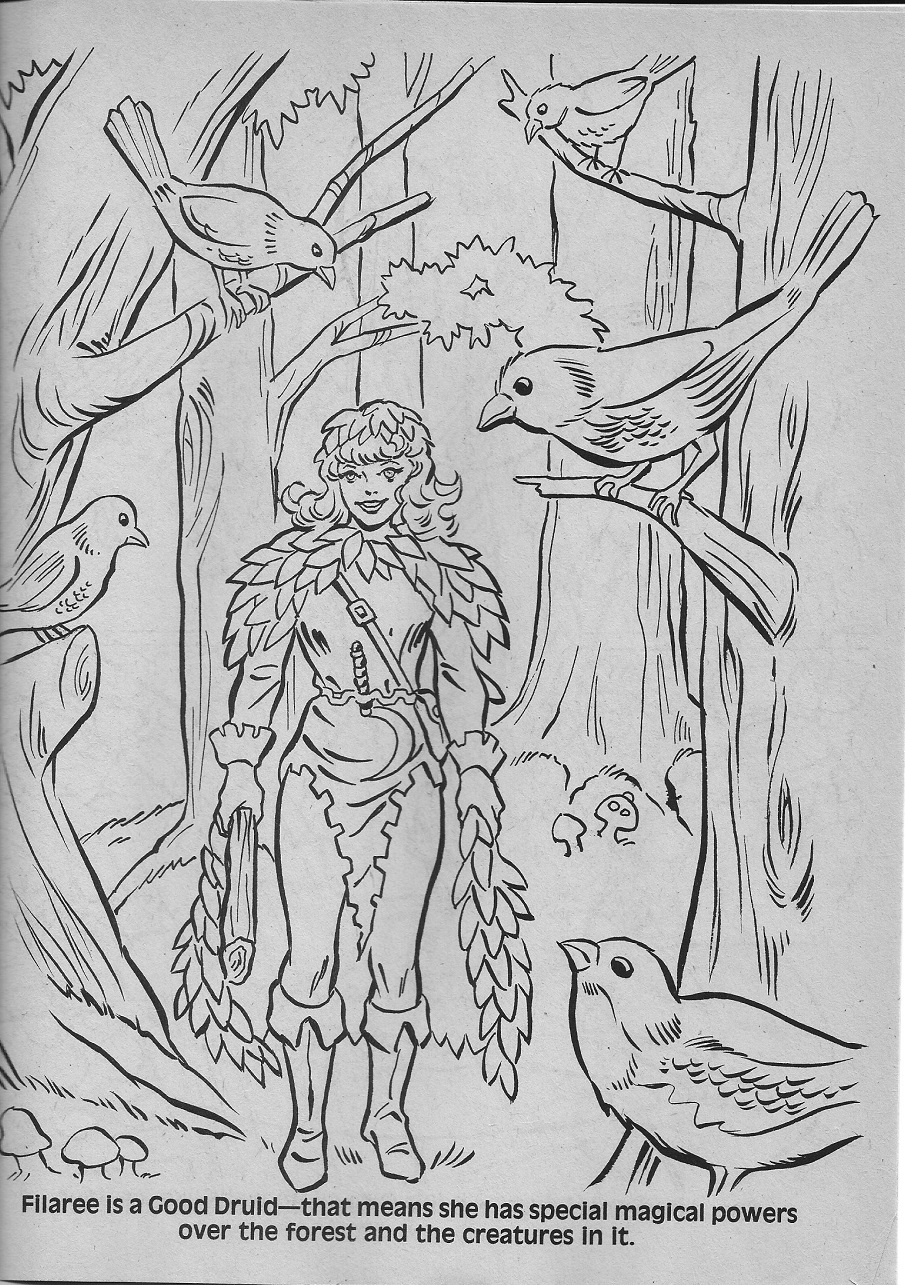 dungeons and dragons coloring pages - photo#30