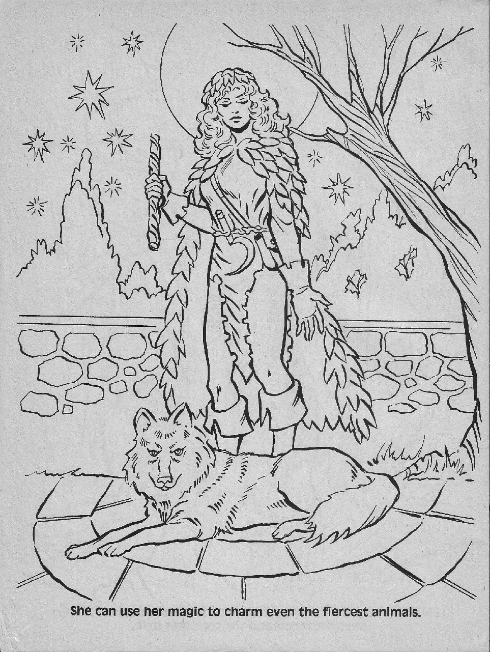 dungeons and dragons coloring pages - photo#24