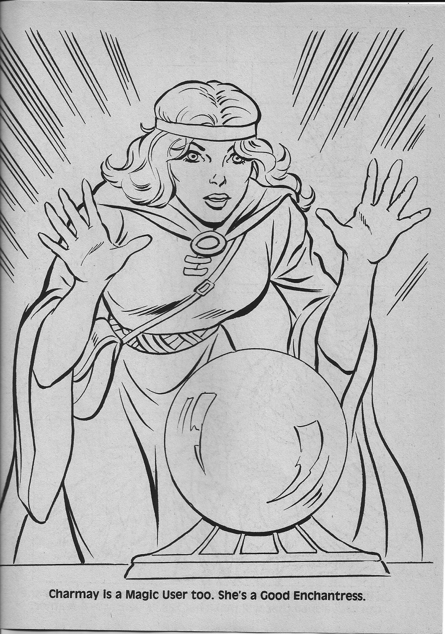 dungeons and dragons coloring pages - photo#50