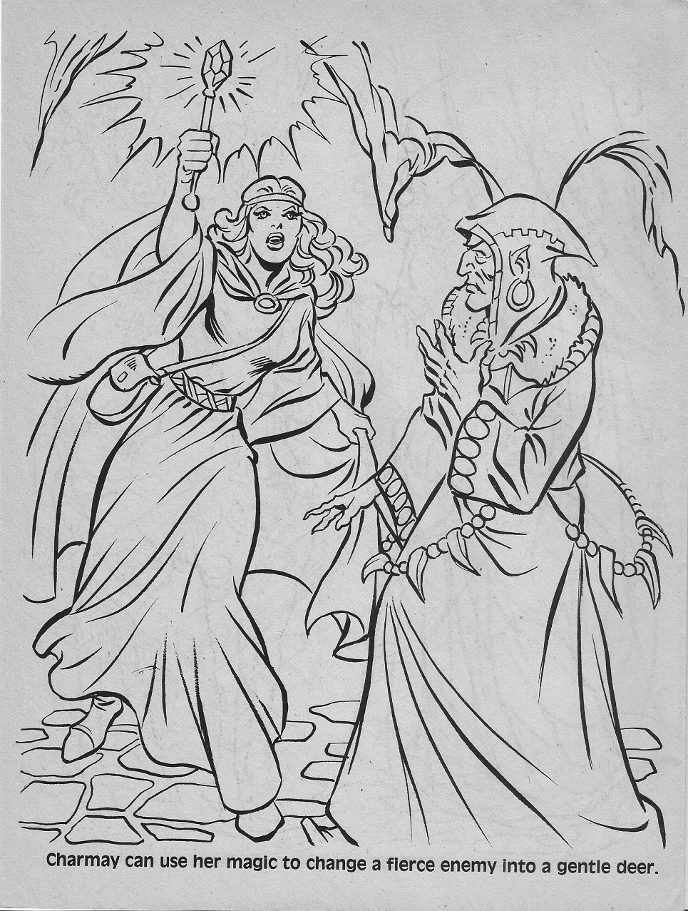 Dungeons And Dragons Coloring Sheets Coloring Pages
