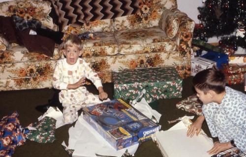Christmas Spidey 1980