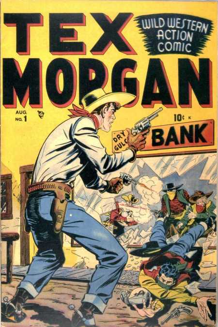 Tex Morgan #1 1948-2