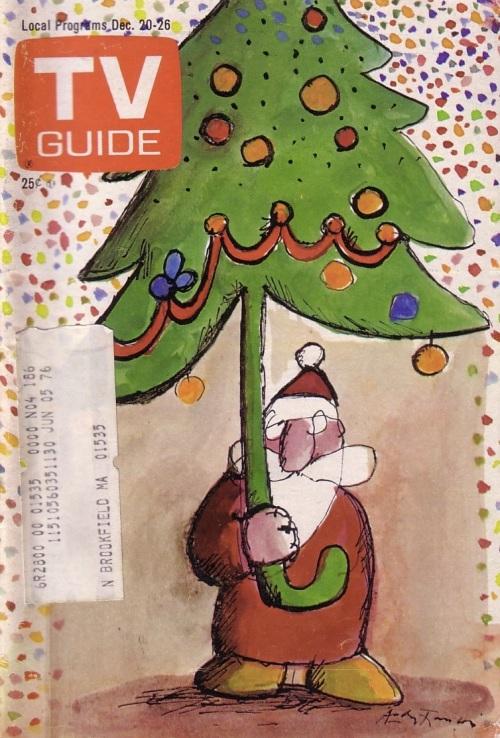 TV Guide Christmas 1975
