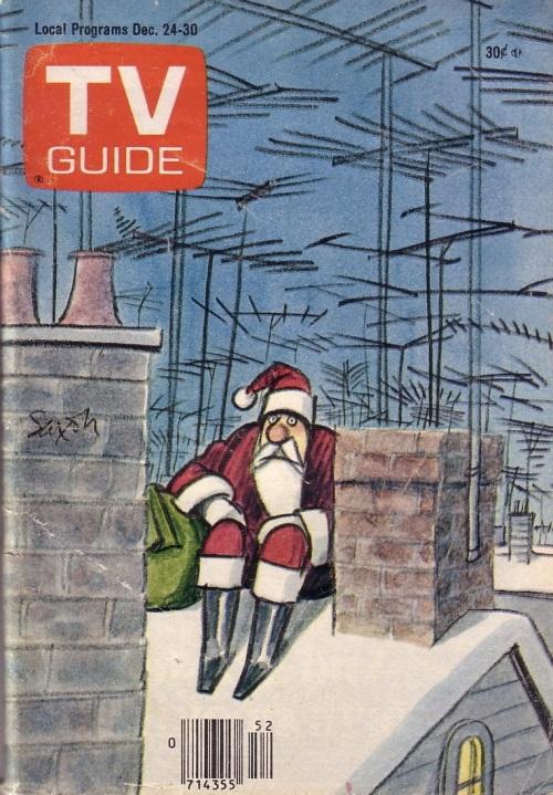 TV Guide Christmas 1977