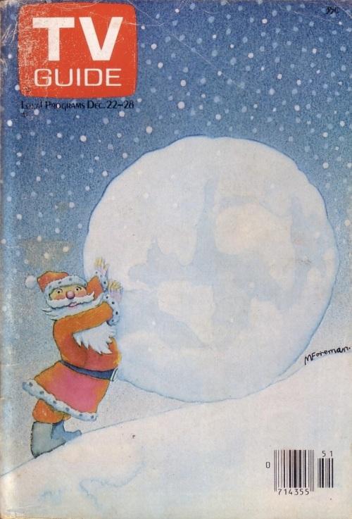 TV Guide Christmas 1979