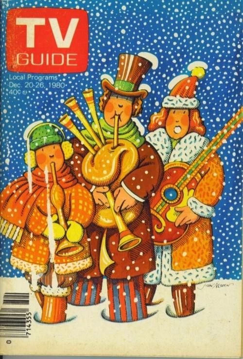 TV Guide Christmas 1980