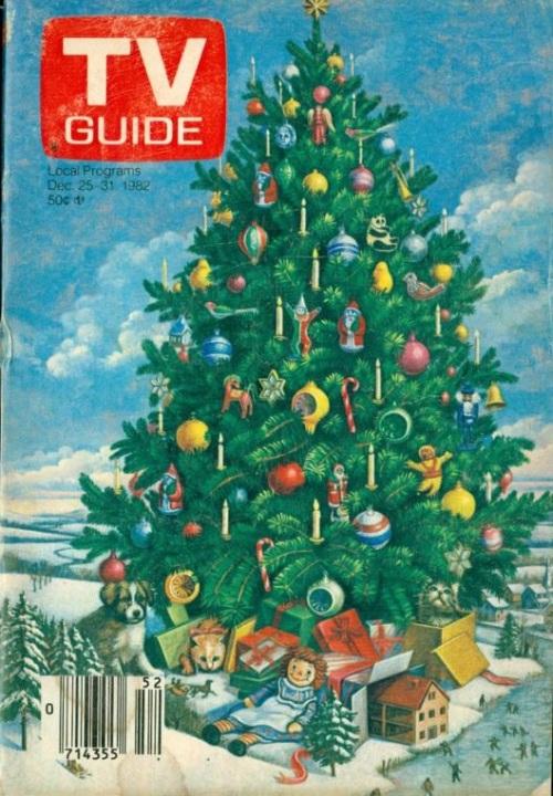 TV Guide Christmas 1982