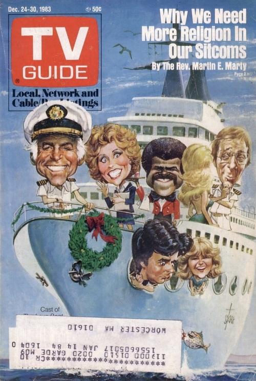TV Guide Christmas 1983