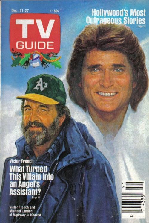 TV Guide Christmas 1985