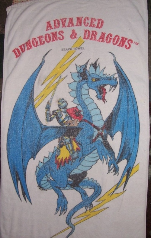 AD&D Beach Towel 1982-2