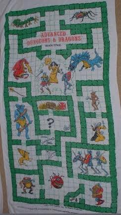 AD&D Beach Towel 1982-3