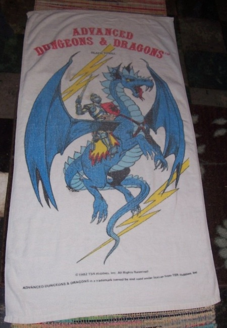 AD&D Beach Towel 1982