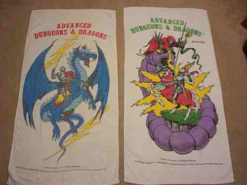 AD&D Towels 1982