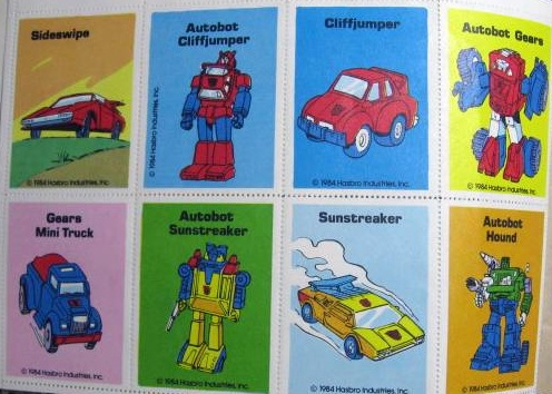 Transformers Stamps 1984-4