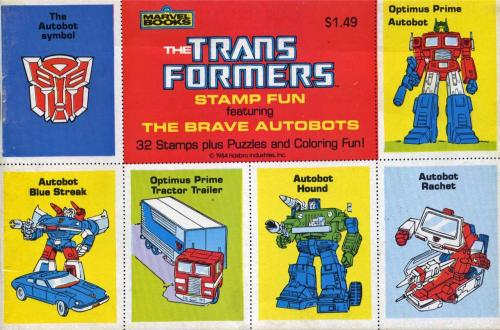 Transformers Stamps 1984