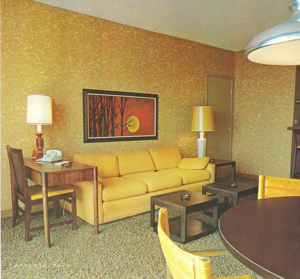 The disneyland hotel 1970 2 warps to neptune for Retro design hotel