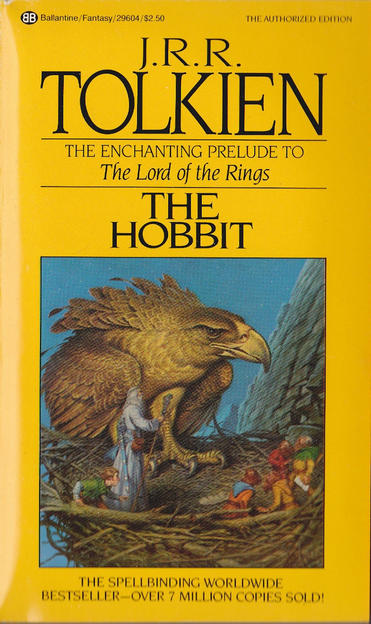 Hobbit Book Cover Art ~ Darrell k sweet cover art for the hobbit and lord of