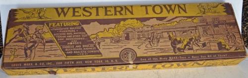 Marx Western Town 1952