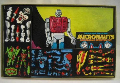 Micronauts Colorforms 1977-2