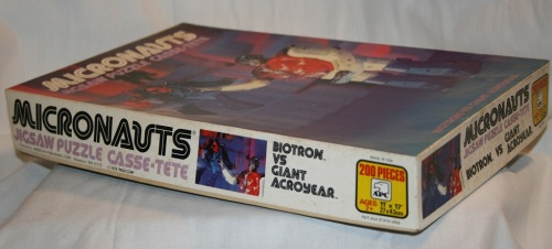 Micronauts Puzzle 1978-2