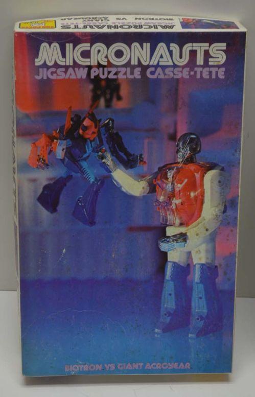Micronauts Puzzle Biotron 1978