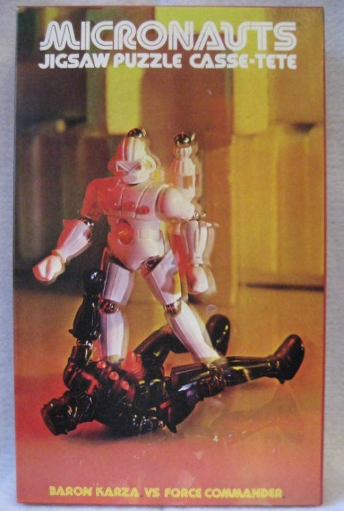 Micronauts Puzzle Force 1978