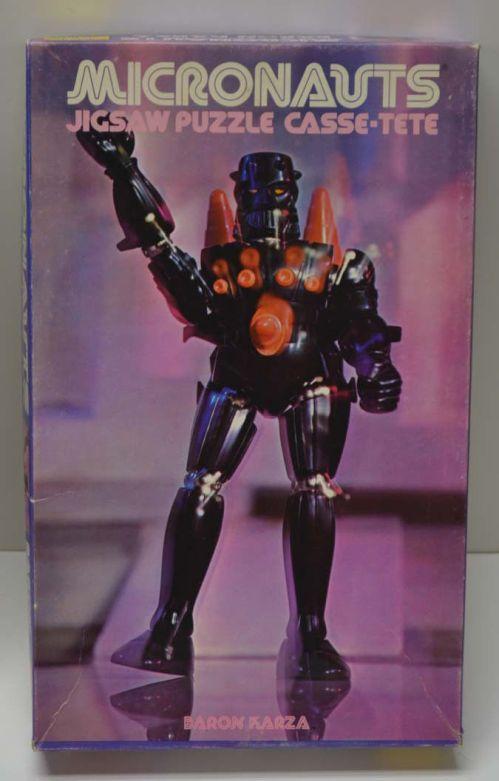 Micronauts Puzzle Karza 1978