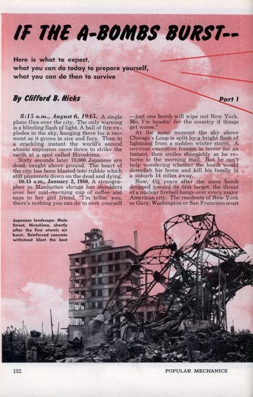 A-Bombs 1951