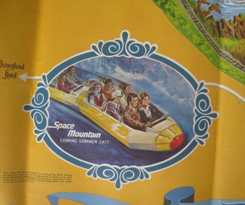 Disneyland Map 1976-2