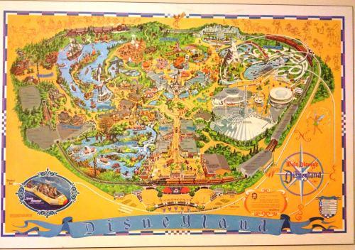 Disneyland Map 1976
