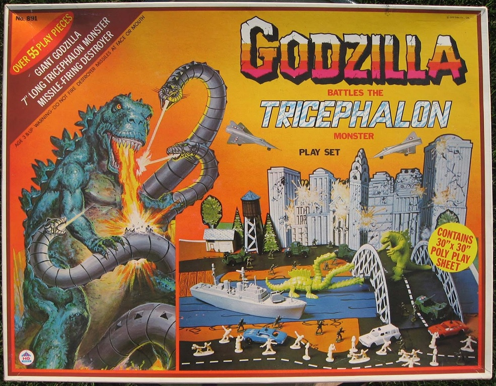Godzilla Toys And Games 115