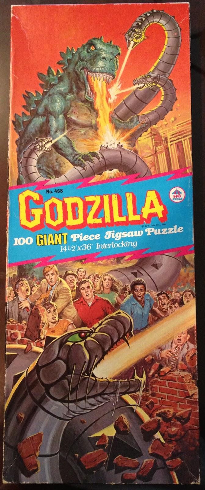 Godzilla puzzle