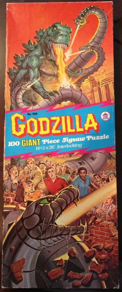 HG Godzilla Puzzle 1979