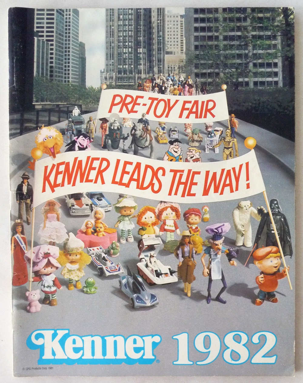 1982 Kenner Toy Fair and Pre-Toy Fair Catalogs: The Empire ...
