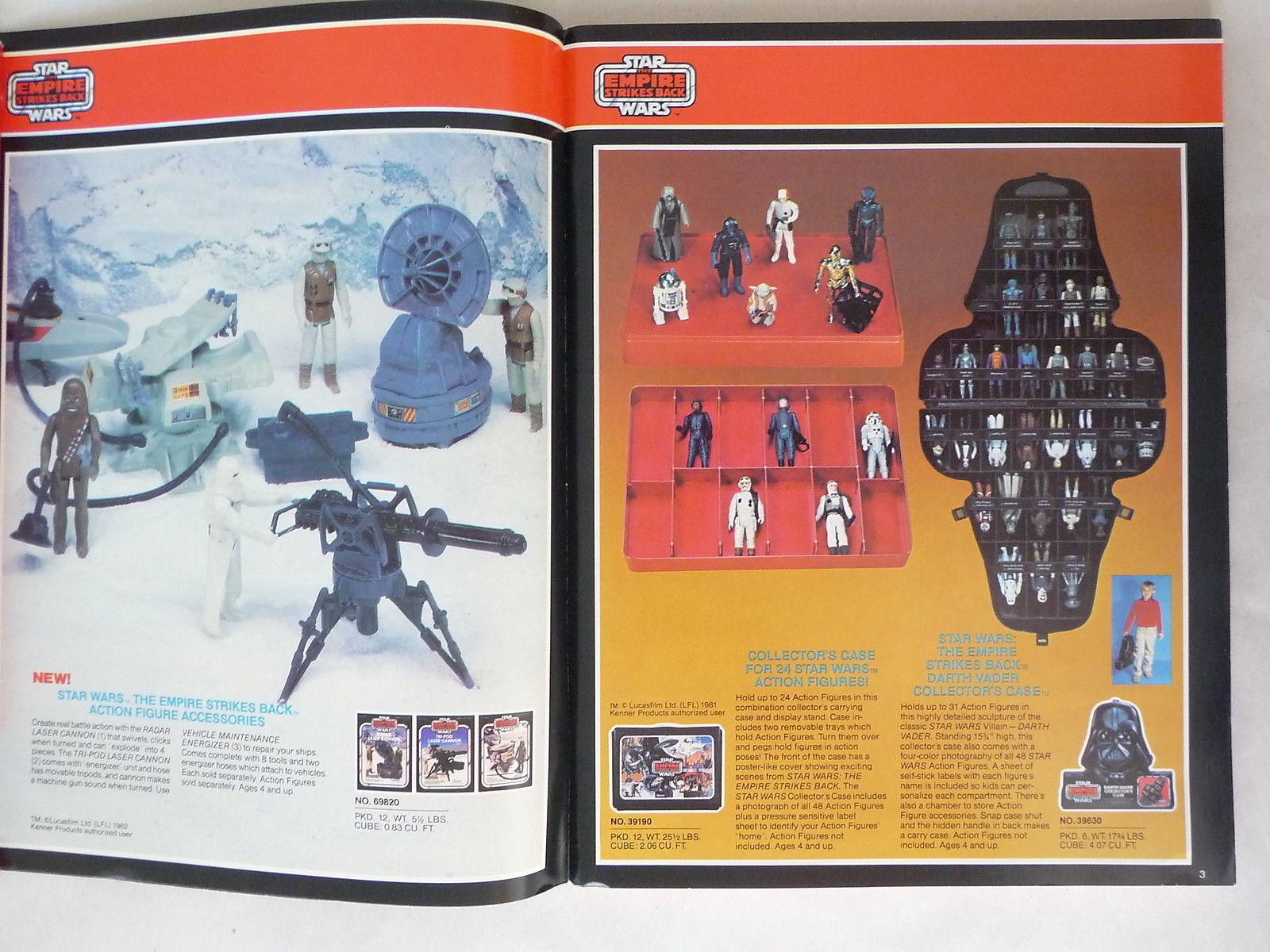1982 kenner toy fair and pre toy fair catalogs the empire strikes