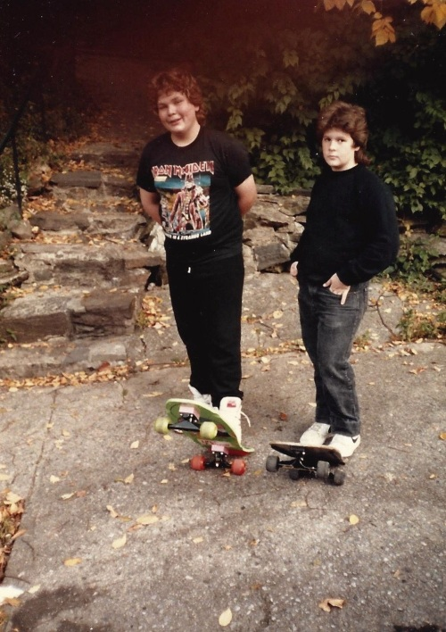 Kids Skateboards 1986