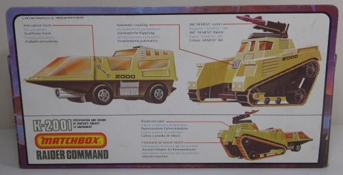 Matchbox Adventure 2000 Raider 1976-2