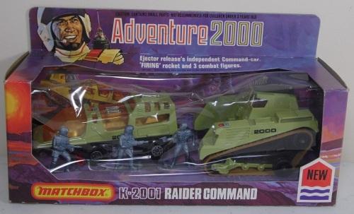 Matchbox Adventure 2000 Raider 1976