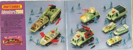 Matchbox Adventure Catalog 1978