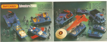 Matchbox Adventure Catalog 1980